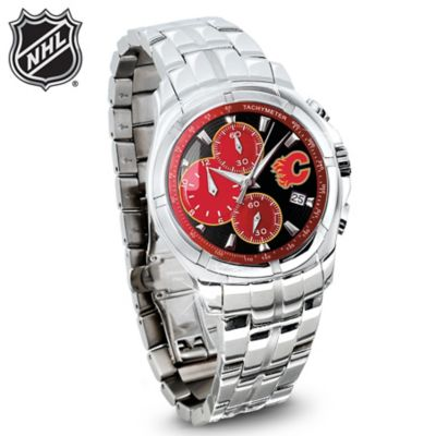 The NHL® Officially Licensed Calgary Flames® Chronograph Watch