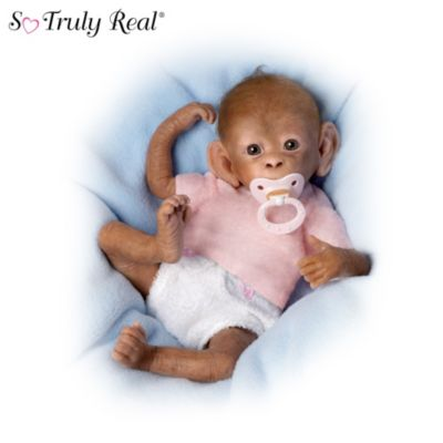 so truly real baby monkey doll collection bundles of love. Black Bedroom Furniture Sets. Home Design Ideas