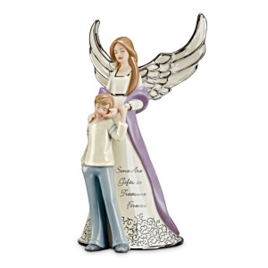 """Forever My Son"" Musical Porcelain Figurine"