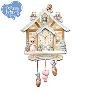 Precious Moments Of Love Cuckoo Clock