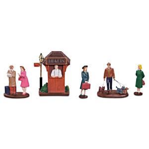 """""""Get Your Tickets!"""" Tain Accessory Figurine Set"""