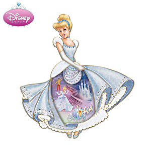 Disney Cinderella Porcelain Wall Hanging Collector Plate