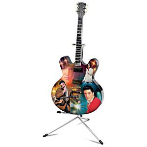 "Elvis Presley ""Viva Las Vegas"" Illuminated Guitar Sculpture"