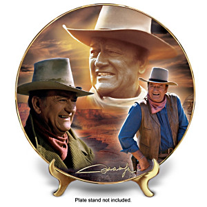 "John Wayne ""Western Legend"" Collector Plate"