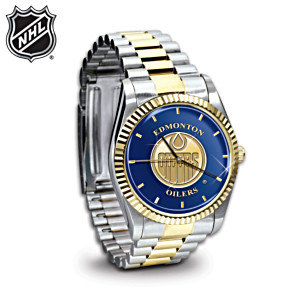 Officially Authorized NHL® Edmonton Oilers® Watch