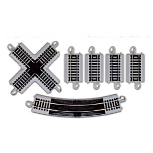 On30 Scale HO Gauge Cross Track Pack Train Accessory