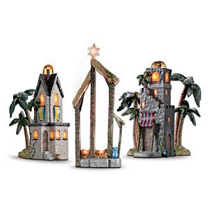 Holy Night Nativity Accessory Figurine Set