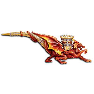 """""""Fire Master"""" Dragon-Shaped Decorative Pipe Replica"""