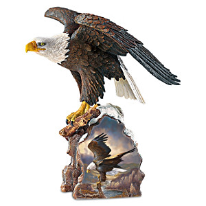 "Ted Baylock ""River Watch"" Eagle Sculpture"