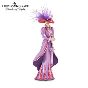"Kinkade ""Tea At Three"" Victorian Fashion Figurine"
