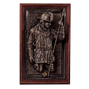 Firefighter Projecting Wall Decor