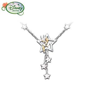 Tinker Bell Wishes Swarovski Crystal Necklace