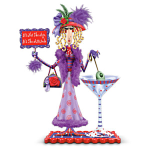 "Dolly Mama's ""It's Not the Age, It's the Attitude"" Figurine"