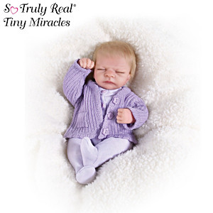 Tiny Miracles Miniature Lifelike Vinyl Emma Doll