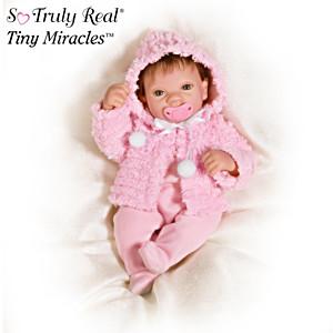 """Tiny Miracles """"Martha Viola"""" Collectible Doll"""