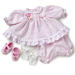 "6-Piece ""Going To Grandma's"" Outfit For 10"" Doll"