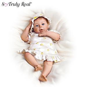 "The Lifelike ""Breathing"" Baby Girl Doll"