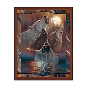 Lee Bogle And Colin Bogle Lighted Stained-Glass Panorama