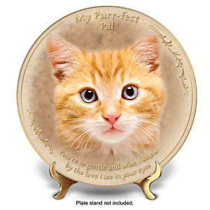 """""""Gentle And Wise"""" Fine Porcelain Collector Plate"""