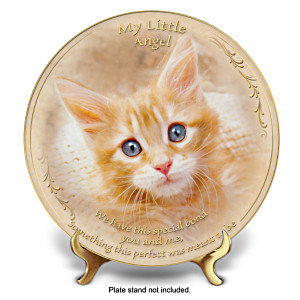 """Special Bond"" Fine Porcelain Collector Plate"