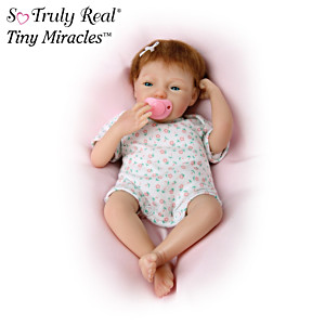 "Realistic Tiny Miracles ""Breathing"" Doll, Maggie"