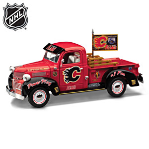 Calgary Flames® 1:25 Scale Diecast Pickup Truck