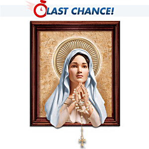 Blessed Mary Sculptural Living Print