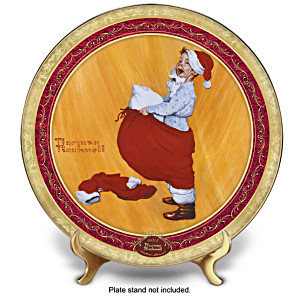 The Official 2014 Norman Rockwell Christmas Collector Plate