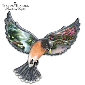 "Thomas Kinkade ""Beauty In Flight"" Wall Decor"