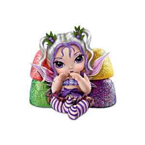 Jasmine Becket-Griffith Christmas Gumdrop Baby Fairy Doll