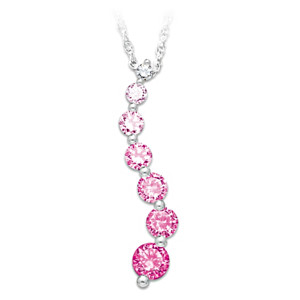 Journey Of Hope Breast Cancer Support Pendant
