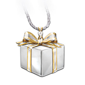 "Diamond ""Gift Of Love"" Pendant For Daughter"