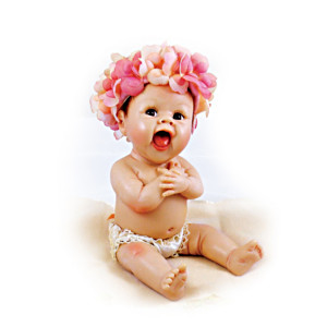 "Sherry Rawn ""I Was Born Cute"" Miniature Baby Doll"