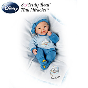 Bright Eyed Baby Donald Doll