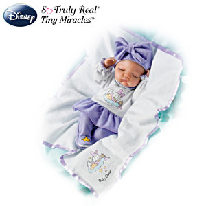 Lifelike Baby Doll With Daisy Duck Sleeper