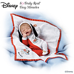Sleepy Baby Boy In Disney Goofy Ensemble