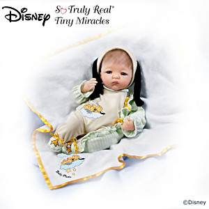 "Disney ""One Pooped Pup"" Lifelike Doll"