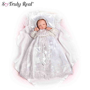 So Truly Real Baby Doll With Christening Outfit