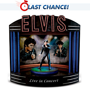 """Elvis Live In Concert"" Music Box"