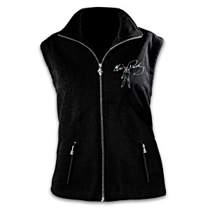 "Elvis ""Ready To Rock"" Fleece Vest"