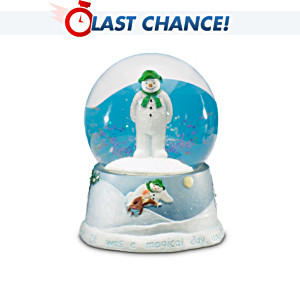 Raymond Briggs' The Snowman Musical Snowglobe & DVD Gift Set