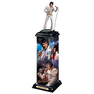 Elvis Presley: Legendary Superstar Illuminated Sculpture