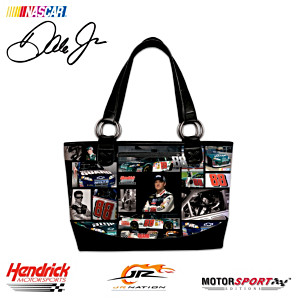 Dale Earnhardt, Jr. Leather-Trimmed Classic Tote Bag