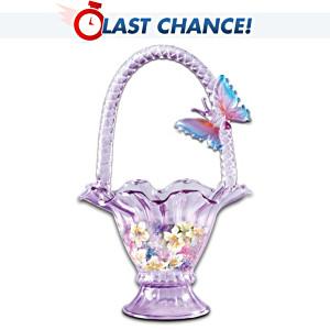 Lena Liu Hand-Blown Art Glass Bowl