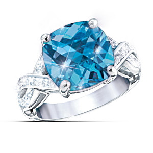 """Royal Reflections"" Color-Changing Women's Ring"
