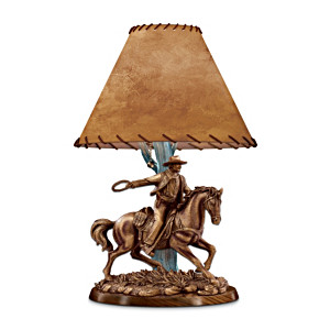 """American Legend"" Sculptural John Wayne Table Lamp"