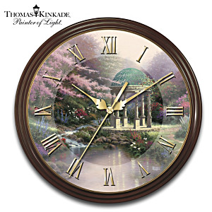 Thomas Kinkade's 25th Anniversary Commemorative Wall Clock