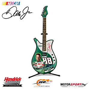 Dale Jr. AMP Sculptural Guitar Figurine