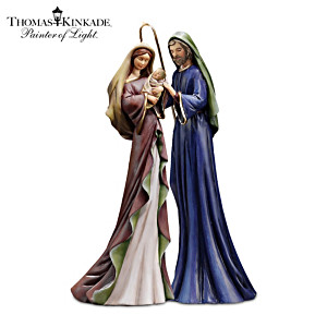 "Thomas Kinkade ""Mary And Baby Jesus"" Figurine"