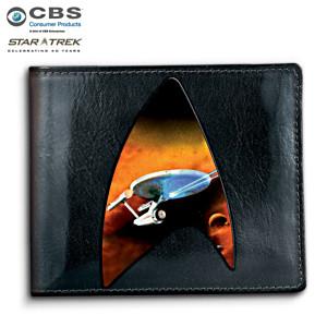 STAR TREK Men's Leather Wallet